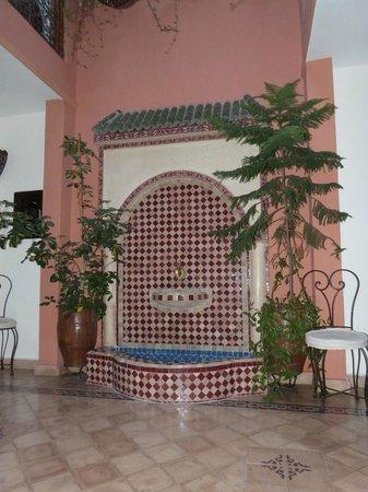 Riad Tarzout : Le patio
