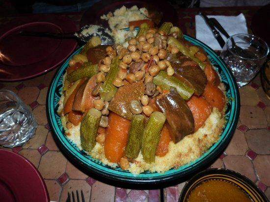 Riad Tarzout : Le délicieux couscous de Khadija