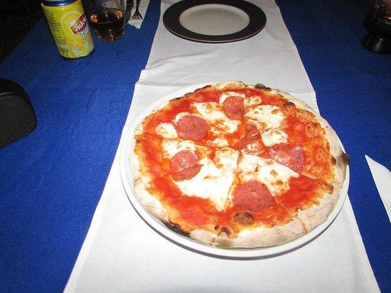 Pinocchio Italian Restaurant: Pizza Salami