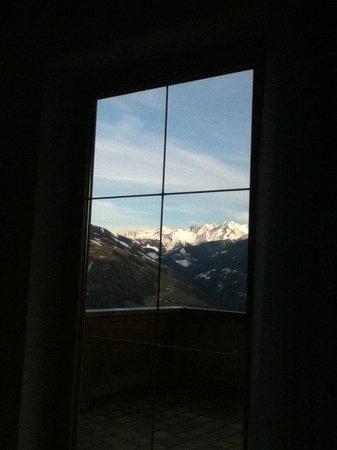 Breierhof: uitzicht vanuit de slaapkamer