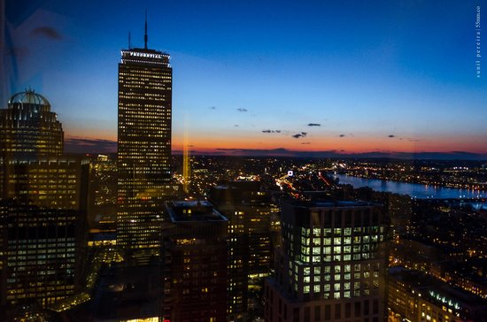 The Westin Copley Place, Boston : Night View of Prudential Tower