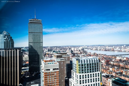 The Westin Copley Place, Boston: View of Prudential Tower