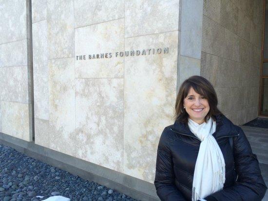The Barnes Foundation: no cameras inside