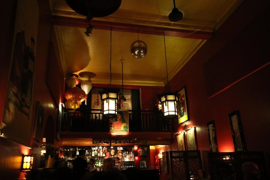 Miss Wong Cocktail Bar : Vue intérieur