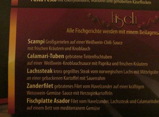 Steakhouse ASADOR: Try the calamari!