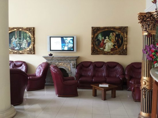 Hotel Xlendi Resort & Spa: reception area