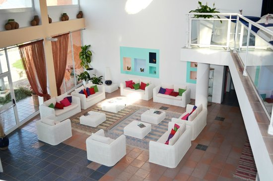 Hotel Luna Lughente : Recepción y Hall