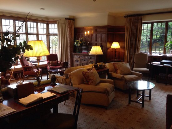 Gidleigh Park Hotel: Lounge