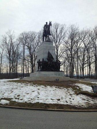 Parque Militar Nacional de Gettysburg: Virginia Memorial with Robert E. Lee and Traveler