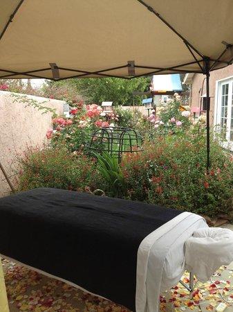 Two Hands Mobile Massage : Garden Massage