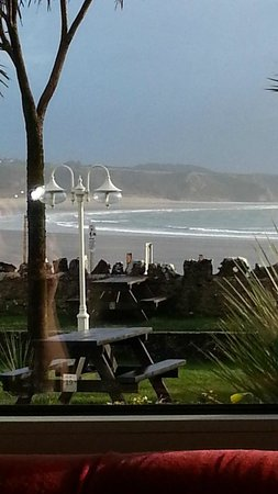 Oxwich Bay Hotel: View from Breakfast