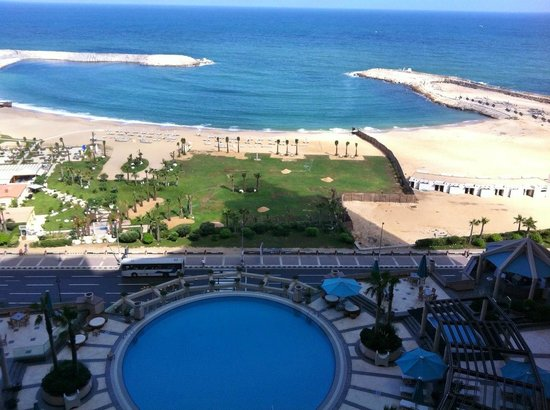 Four Seasons Hotel Alexandria : View from our room