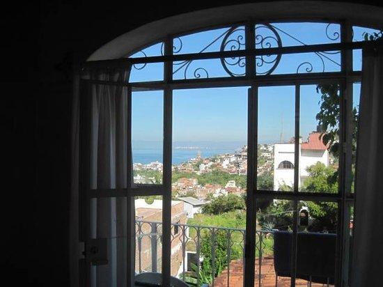 Hotelito Rolando: Nice view from Juan Maria Room