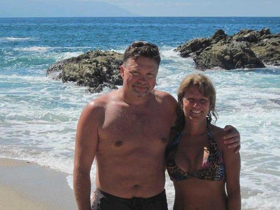 Hotelito Rolando: Great Beaches off the busy Melacon and within walking of Rolando