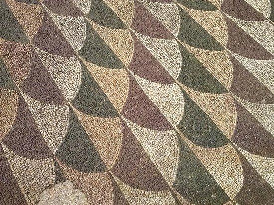 Thermes de Caracalla : Smukke gulve i Caracallas Termer