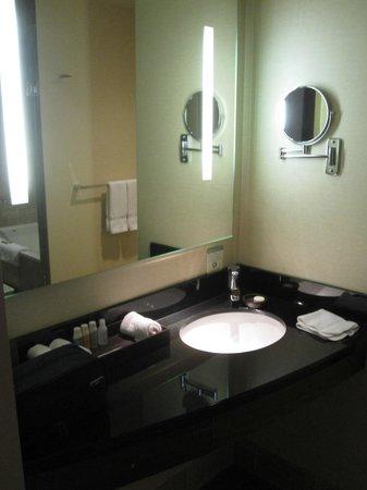 Miyako Hybrid Hotel: vanity