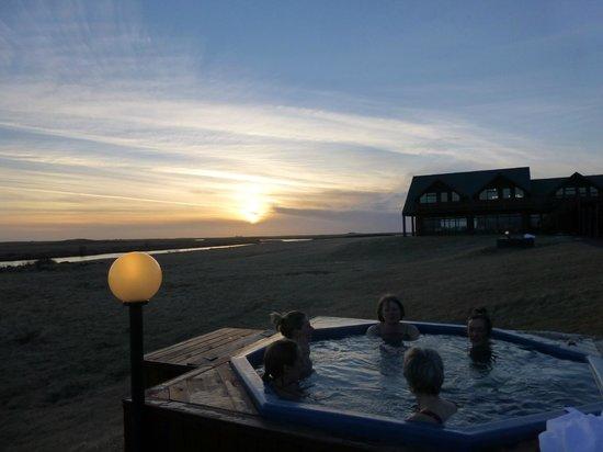 Hotel Ranga : hot tub with view