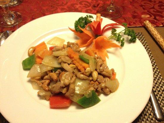 Essence Restaurant: Chicken with cashew nut