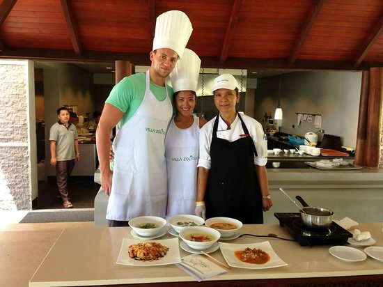 Villa Zolitude Resort and Spa : Cooking Class