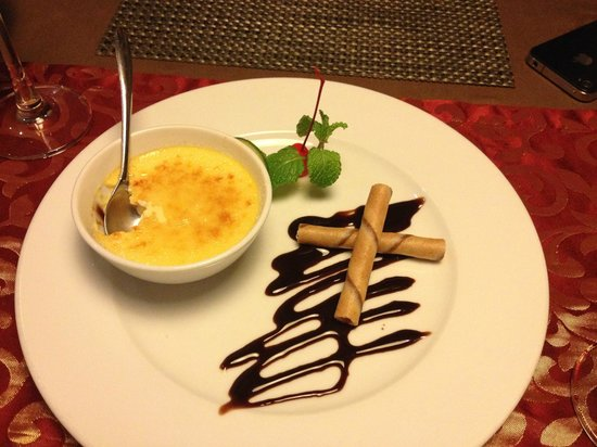 Essence Restaurant: Desert: creme brulee