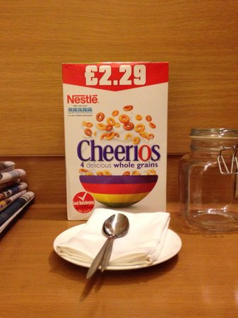 The Westin Mumbai Garden City : The Westin team surprised me with my favorite cereal when I returned from work one day.