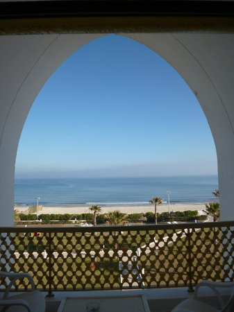 Amir Palace: amazing view from our room