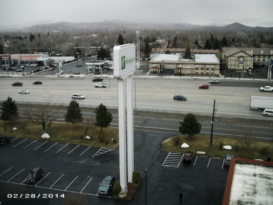 Holiday Inn Reno-Sparks: view from room