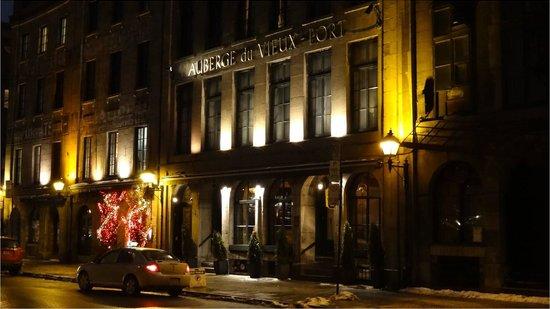 Auberge du Vieux-Port : Vue facade