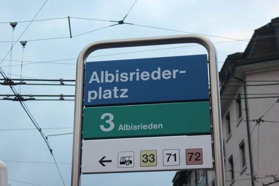 Crowne Plaza Zürich Hotel: Albisriederplatz Station - Line 3