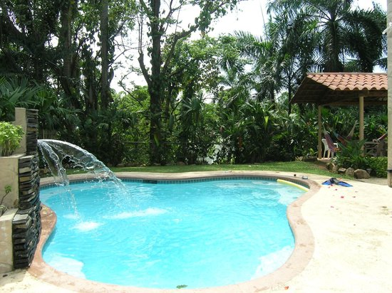 Panama Vacation Quarters: Our private pool.