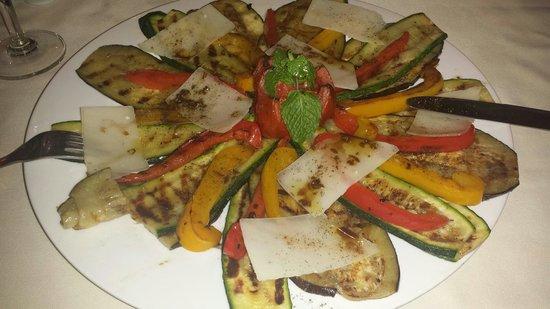 Carlo Ristorante Italiano : Mix grill vegetables
