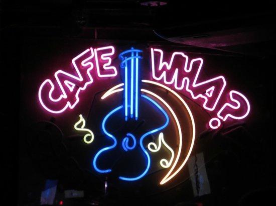 Cafe Wha : Café Wha