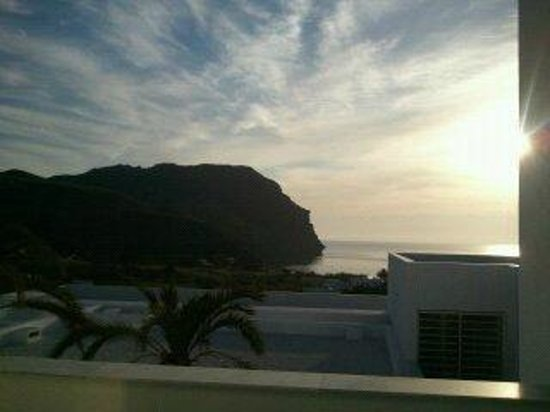 Hotel Cala Grande: Vista desde la habitacion del amanecer
