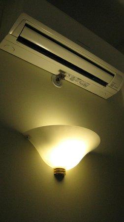 My City Hotel Tallinn: Remote controled AC