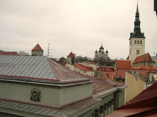 My City Hotel Tallinn: Scenery from our 5th floor room