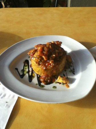 Punto de Vista Restaurant & Bar: Chicken Mofongo at Punto de Vista