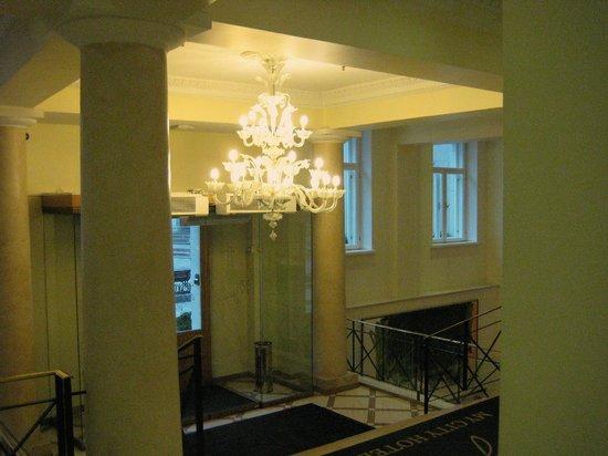 My City Hotel Tallinn: Foyer/Hotel lobby