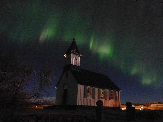 Northern Light Inn: northern lights