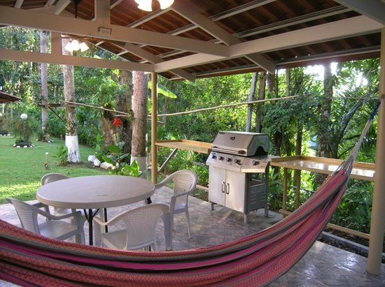 Panama Vacation Quarters: Gazebos #2 with grill.