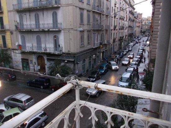 Hotel Zara: vista dalla balcone
