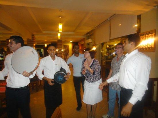 Beach Albatros Sharm: Поздравление от отеля в день рождения