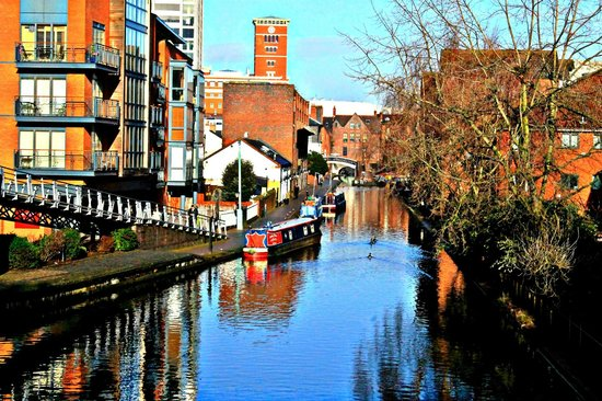 Bloc Hotel Birmingham: Canal basin area - a great place to chill out in