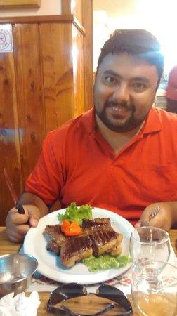 La Fonda Del Tio: El bife de chorizo