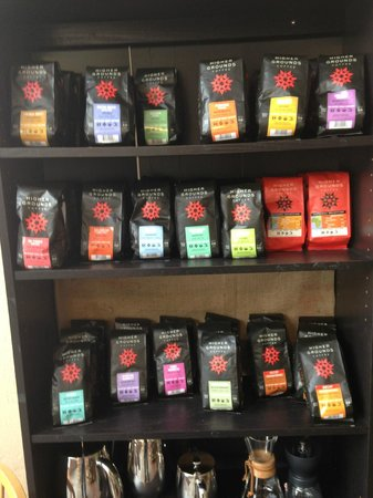 Higher Grounds Trading Co.: Small Sample of their Coffees