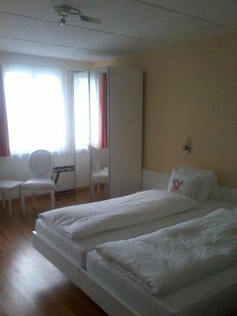 Hotel Weisses Kreuz: vista general de habitacion