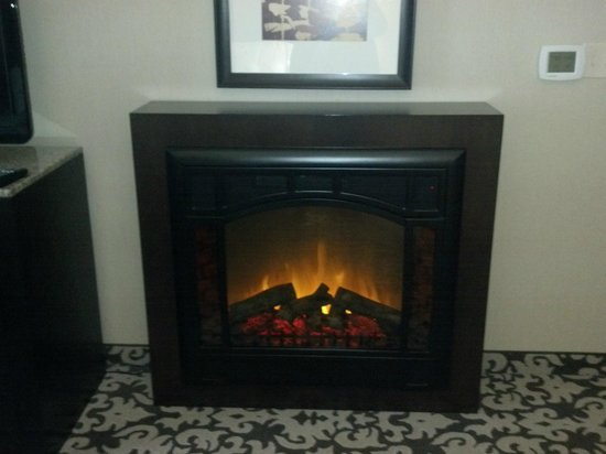 Homewood Suites by Hilton Oxnard/Camarillo : Fireplace In Master Bedroom