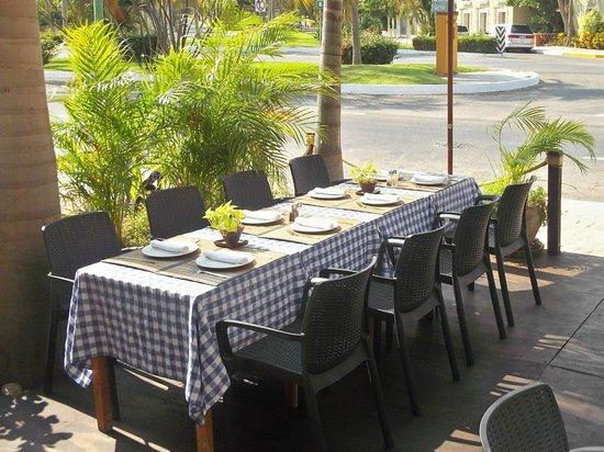 La Terraza Restaurante & Grill: ext. terraza