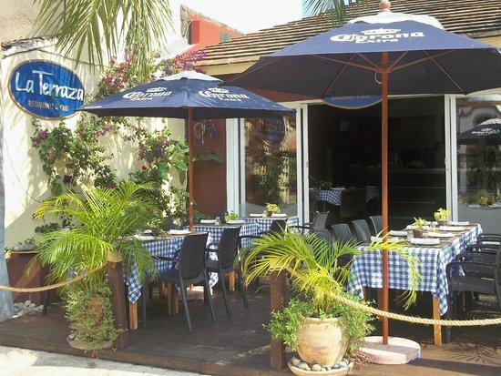 La Terraza Restaurante: ext. terraza