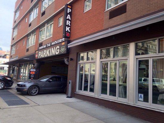 Parking Garage next to Nu Hotel