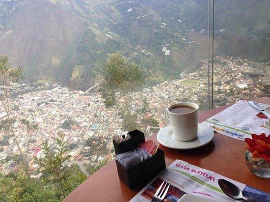 Cafe del Cielo: View from CafeCielo